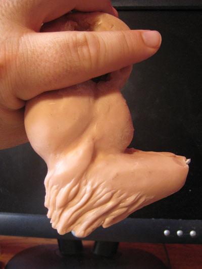 polymer clay tribal arm frame