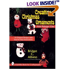 Christmas Ornament Polymer Clay Book