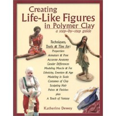 Polymer clay book for clay figures