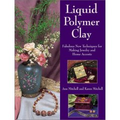 Liquid polymer clay book