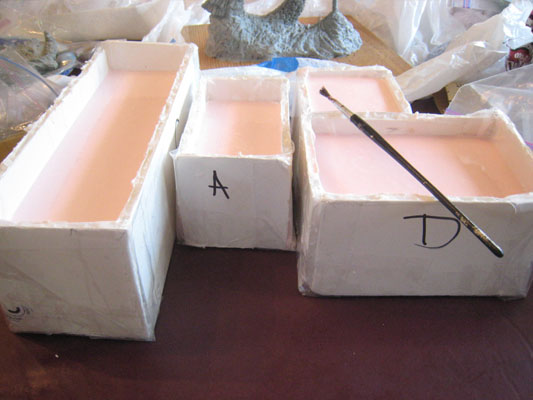Mold box - step 1