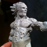 Soul Collector torso WIP view